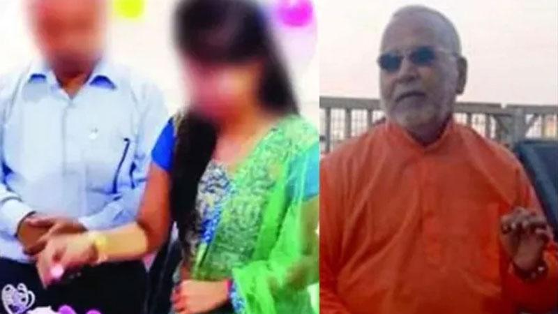 chinmayananda case family of girl left for delhi