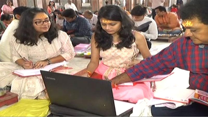 Diwali chopda pujan is hitech in Diwali 2019 Gujarat