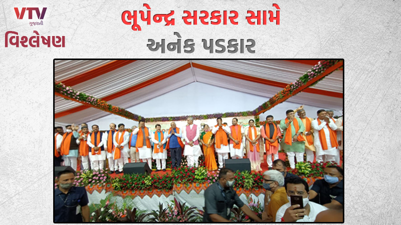 Many challenges against Gujarat CM Bhupendra Patel's government