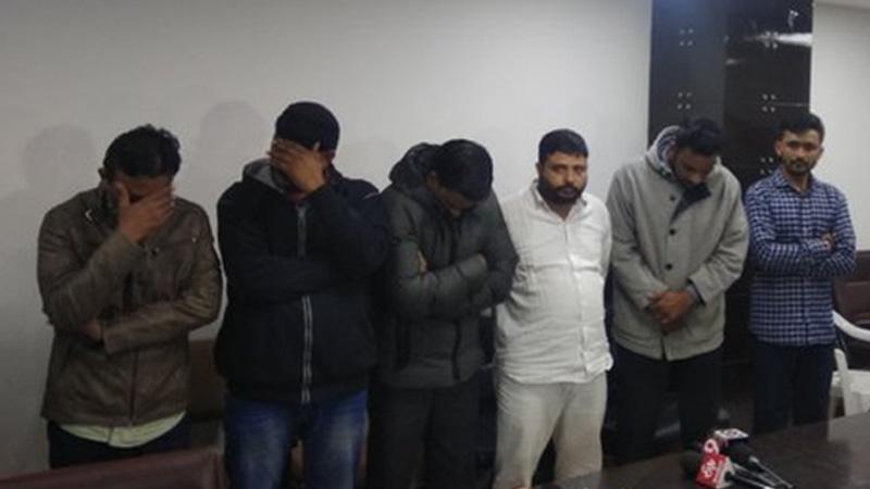 bin sachivalay exam scam congress cm rupani gandhinagar range ig mayanksinh chawda