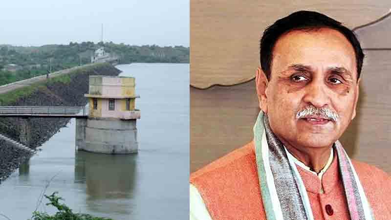 Rajkot Gujarat Vijay Rupani Aji dam water