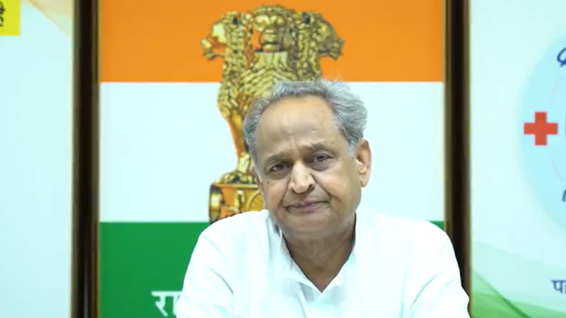 CM Ashok gehlot said that there is a split in bjp victory will be ours congress mla