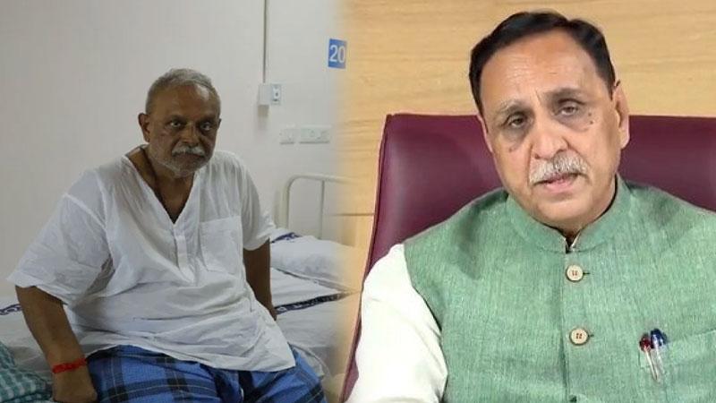 Rajya Sabha MP Abhay Bhardwaj corona treatment at Rajkot Civil Hospital