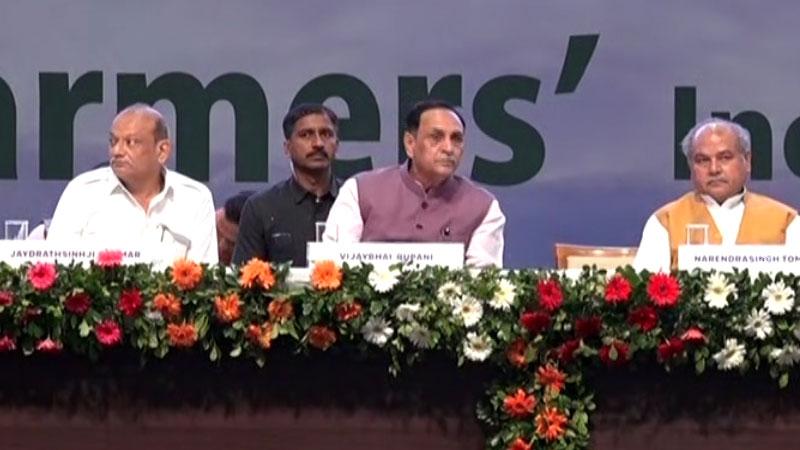 9th Agri Asia Summit CM rupani narendra tomar gujarat Farmers