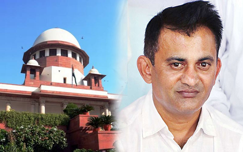 Congress filed petitions Supreme Court Election Commission Gujarat Rajya Sabha bypolls