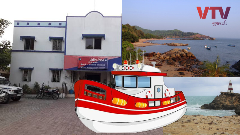 Gujarat marine police possesses only 22 police stations for the security of 1600 km long coast line