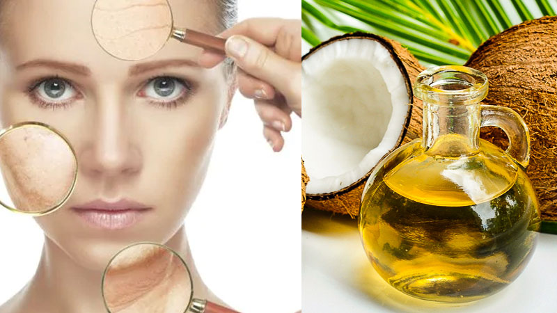 To Avoid Face Wrinkles Use This Coconut Oil Tips