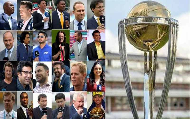 24 commentators, including three Indians will give a commentary