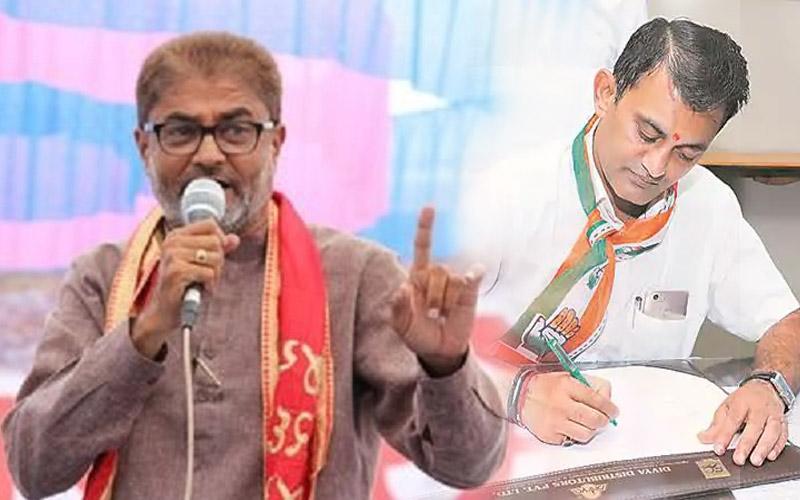 lalit vasoya statement paresh dhanani congress gujarat