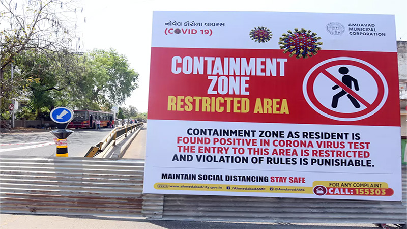 coronavirus in india Ahmedabad and other 30 city in under red zone after 17 May 2020
