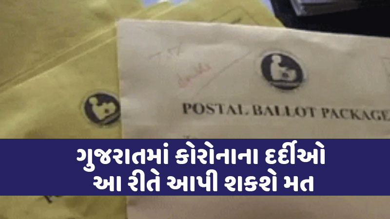 people above 65 years of age can use postal ballot election commission gujarat