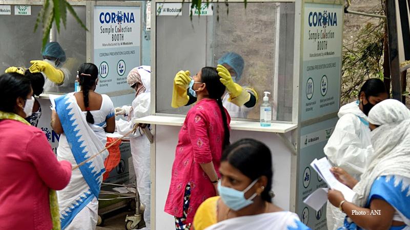 coronavirus mumbai reports 532 covid cases highest since july 15
