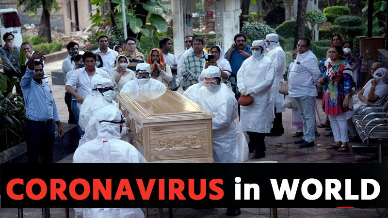 coronavirus in world live updates Gujarati news of covid19 positive cases and death 7th april 2020