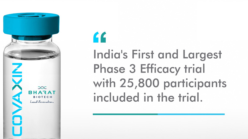 Bharat biotech announces phase 3 results of covaxin clinical efficacy-of 81 percent covid vaccine icmr