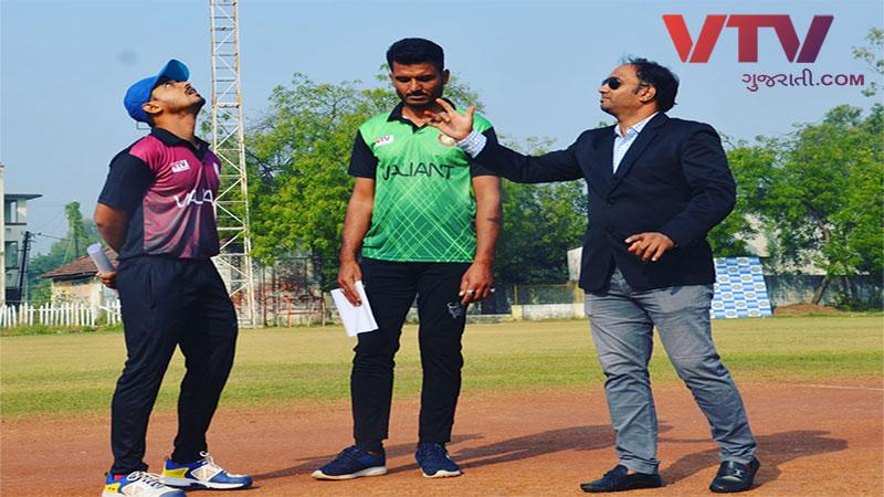 Valiant Cricket Team Internal Tournament Championship 2019 final match in Vadodara
