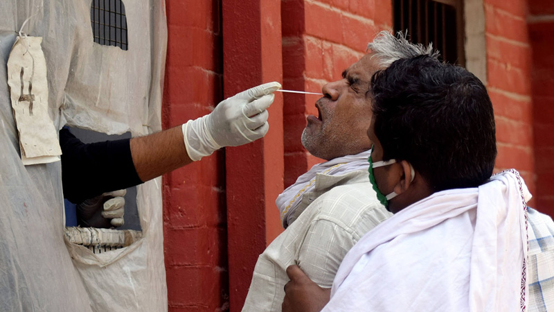 India reported 234692 new coronavirus cases