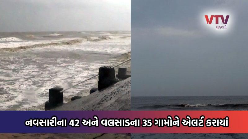 cyclone nisarga gujarat navsari valsad heavy rain alert village