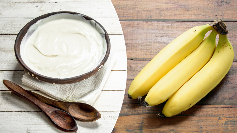 eat banana and curd in breakfast will give you good health know more home remedies health tips