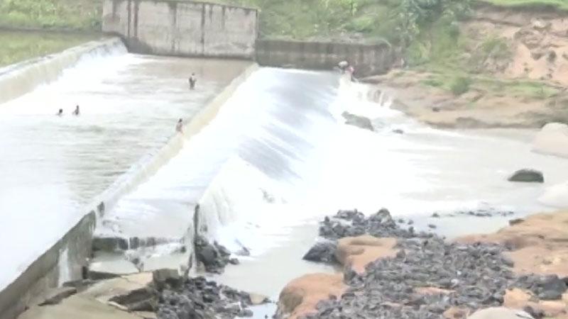 Checkdam Goma river Kalol Panchamahal
