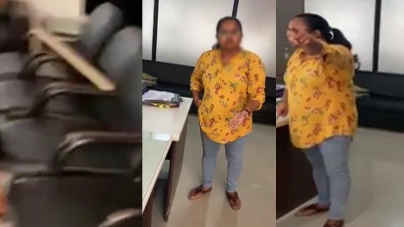 Gujarat Chhota udepur deputy mamlatdar video viral