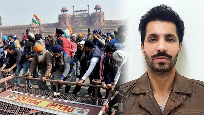 Delhi police deep sidhu arrested