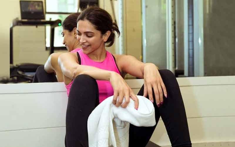 Deepika Padukone had a slip in the gym