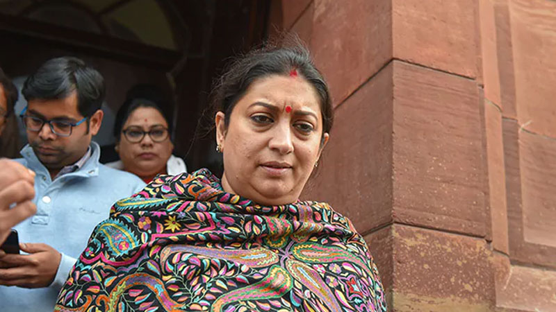smriti irani said nothing can be more stringent than death penalty for rape