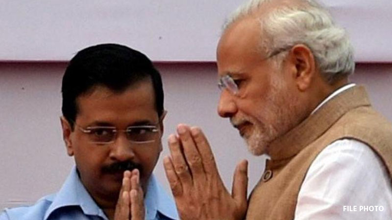 kejriwal is more popular than narendra modi in delhi says survey