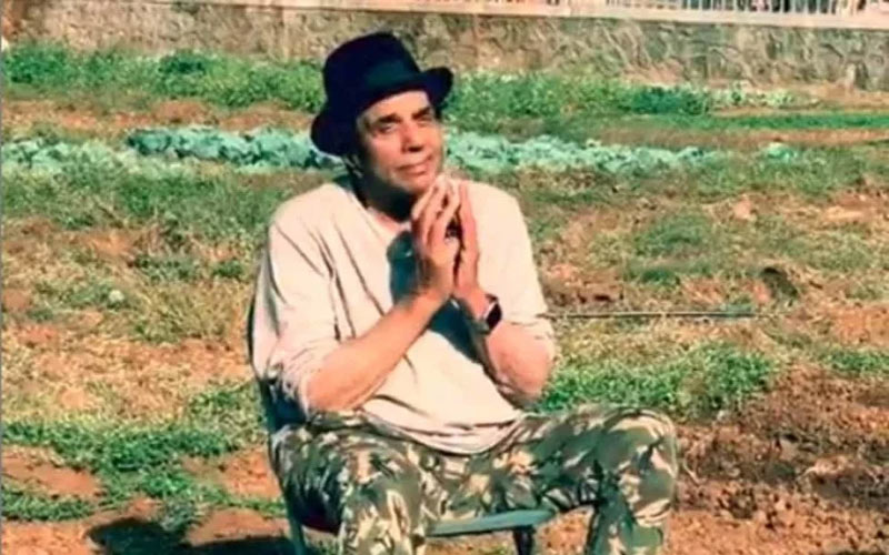 dharmendra share a new video from his farmhouse