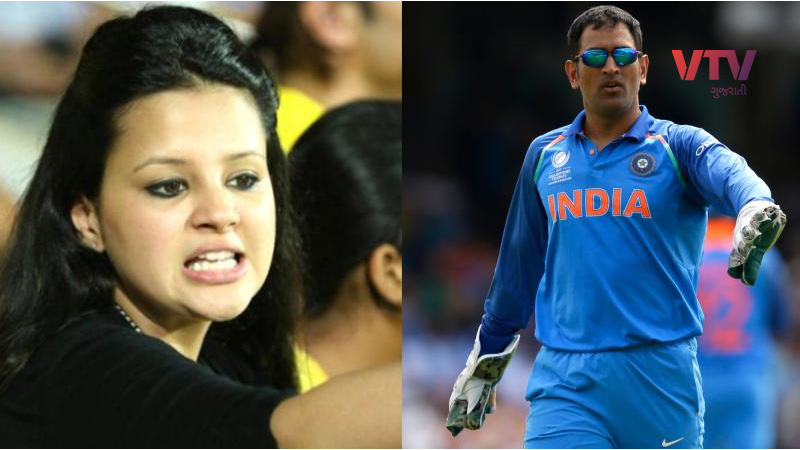 sakshi dhoni's strong answer to rumors