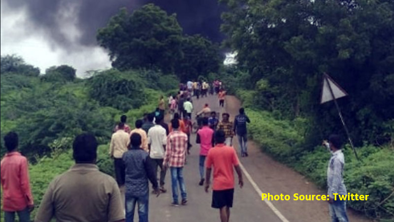 Major blast at Shirpur Chemical Factory near Maharashtra's Dhule