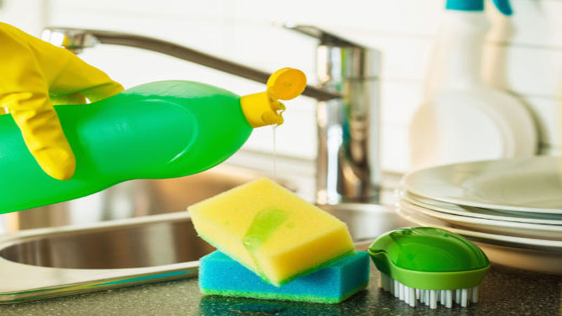 Check out the amazing and different use of liquid dishwash