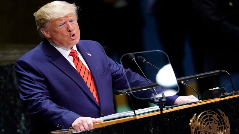 The number of coronaries in the United States is close to 10 lakh, Trump called himself diligent