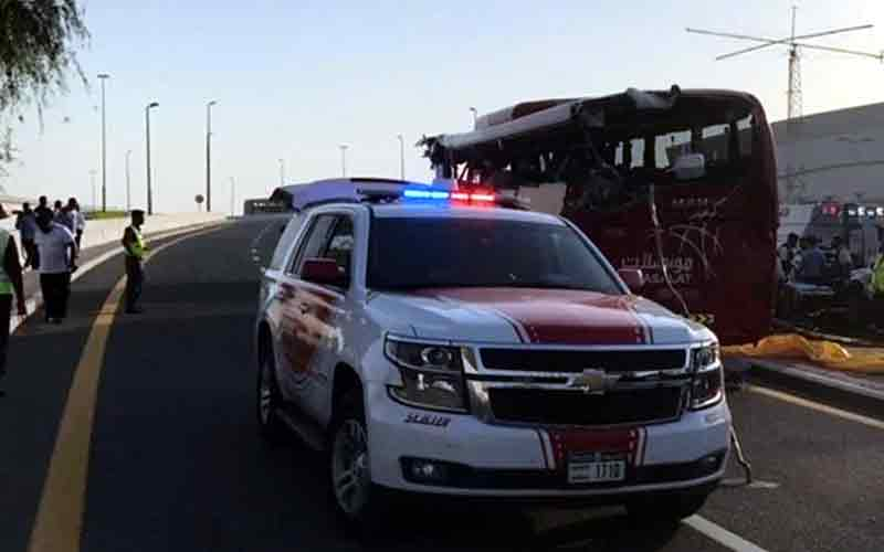 8 Indians among 17 killed in Dubai bus accident
