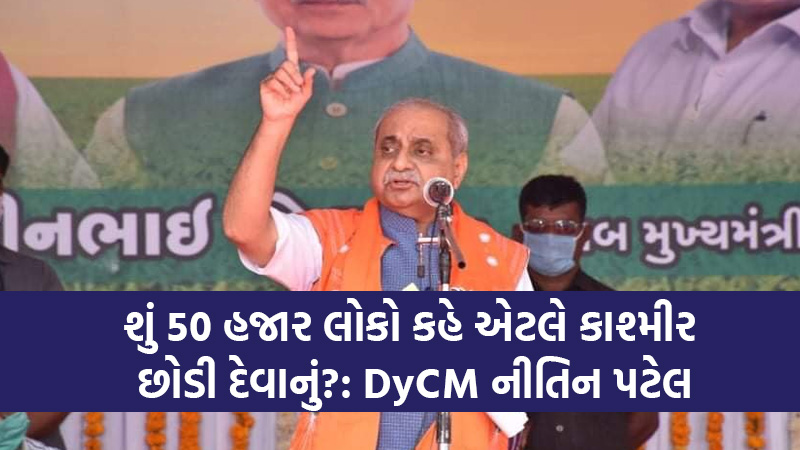 DyCM Nitin patel anti nationals leftists khalistanis in farmers protest