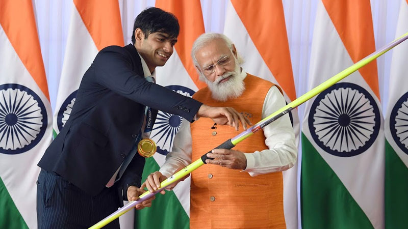 PM's birthday gift auction: Neeraj's spear crosses Rs 1 crore, bid for Rs 10 crore for this item