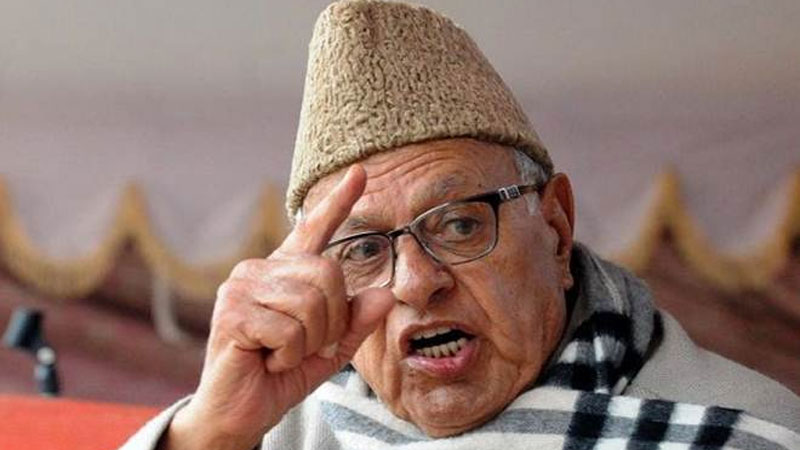 farooq abdullah article 370 modi government Amit shah Statement