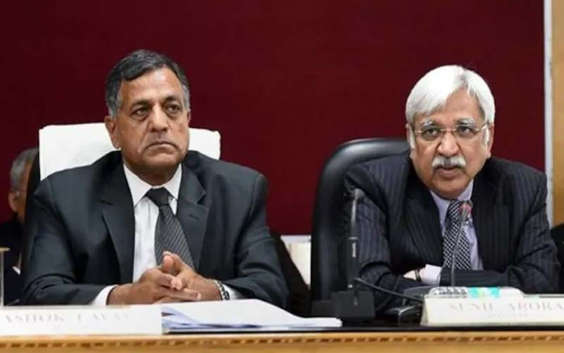 election commission decided to revisit its clean chit to the niti aayog and pmo over an alleged violation of the model code...