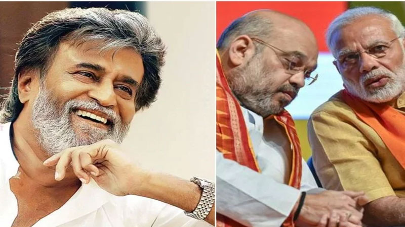 Rajinikanth Praises Amit Shah And PM Modi