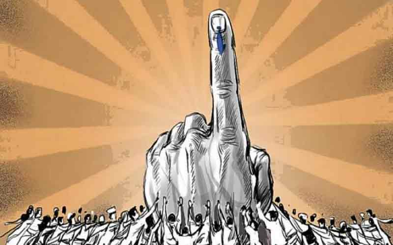 Where did the leaders of the voting see in Gujarat?