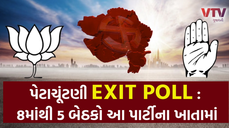 Gujarat by-elections 2020 VTV Exclusive exit poll
