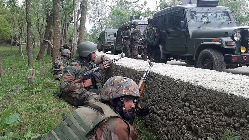 2 terrorists killed, 2 jawans martyred in clash between security forces in Sundarbans area of Jammu and Kashmir