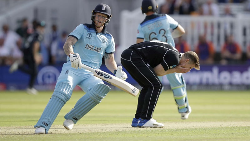 eng vs nz final should the overthrow that gave england an six in final over only have counted for 5 runs