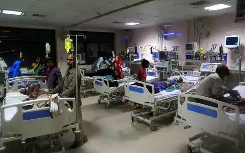 encephalitis fever death toll rises in bihar