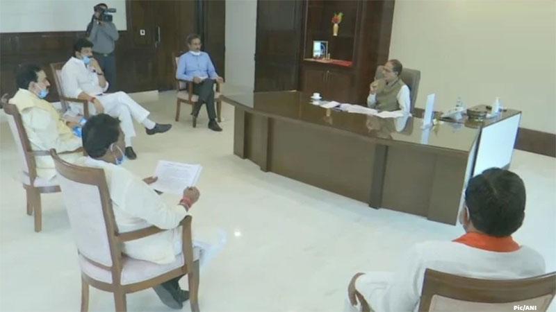 madhya pradesh cabinet portfolio shivrajsingh chauhan home and health ministry