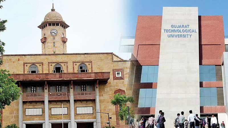 GTU and Gujarat University exams postponed coronavirus