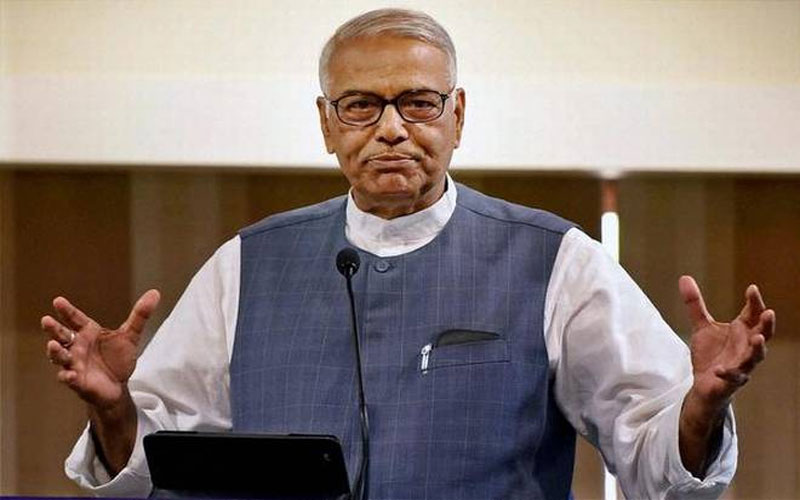 Yashwant Sinha Claims Lal Krishna Advani Saved Modi After Gujrat Riots