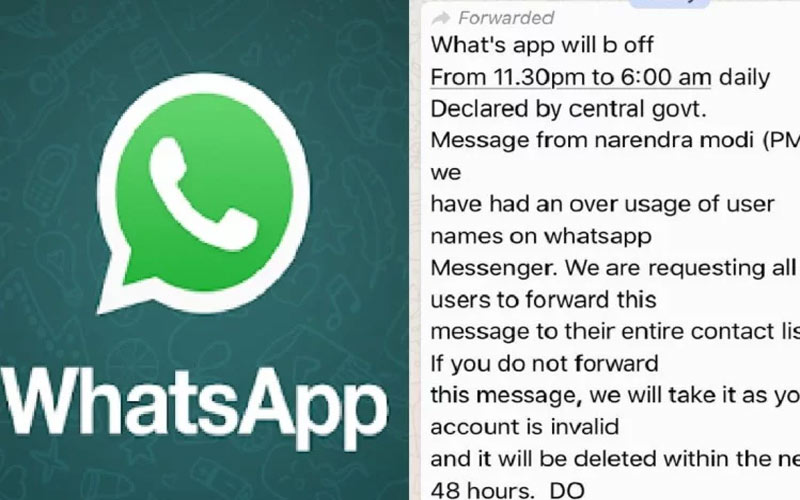 whatsapp usage to be time restricted by government charge of rs 499 per month here is fact check
