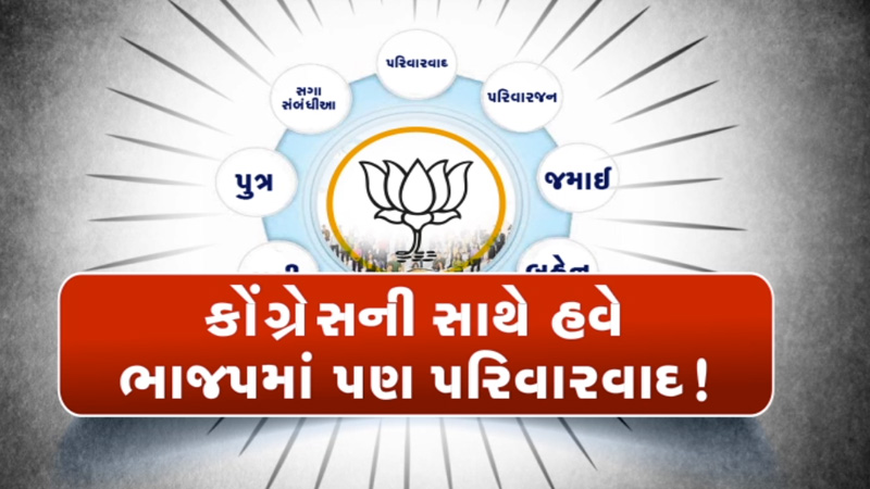 Which BJP leader sought a ticket for his family in the local body elections?