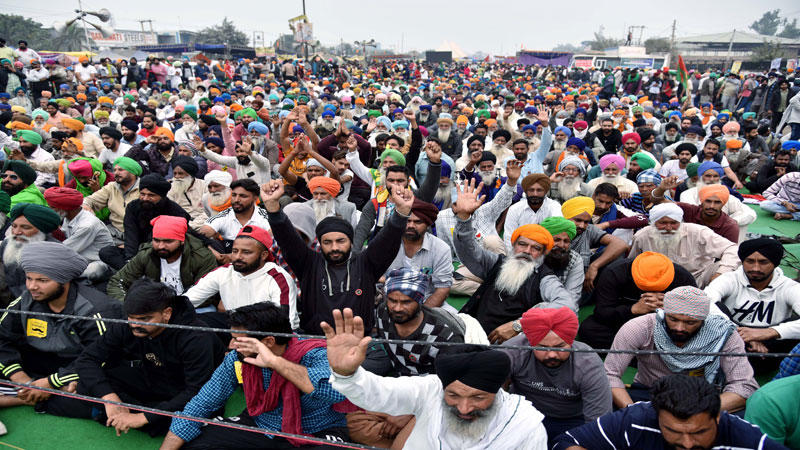 Farmers Protest seventh round of talks between farmers and govt today
